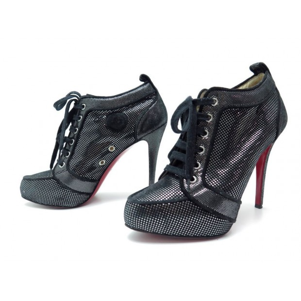 CHAUSSURES BOTTINES CHRISTIAN LOUBOUTIN 41 VENUS ORLATO LOW ANKLE BOOTIES 825€