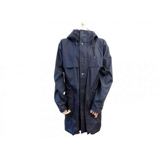 MANTEAU BURBERRY LONDON HOMME M 48 50 COUPE VENT VESTE POLYESTER BLEU COAT 625€