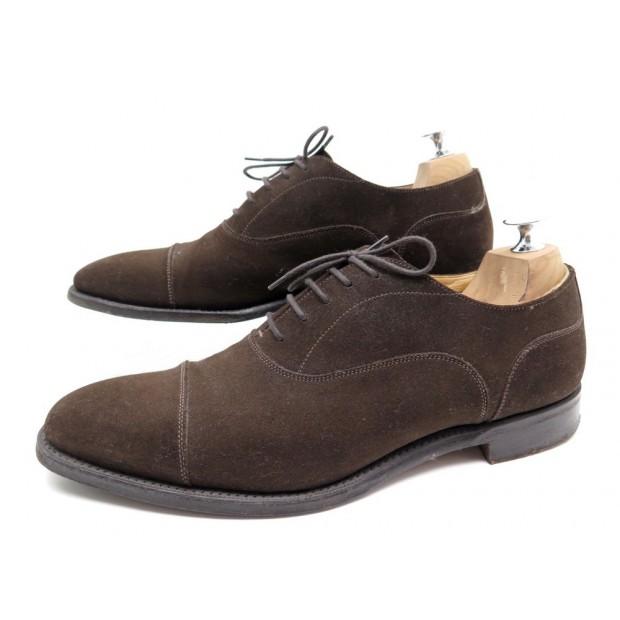 taille 40 0373b b8617 chaussures church's sheldon richelieu 8g 42 daim
