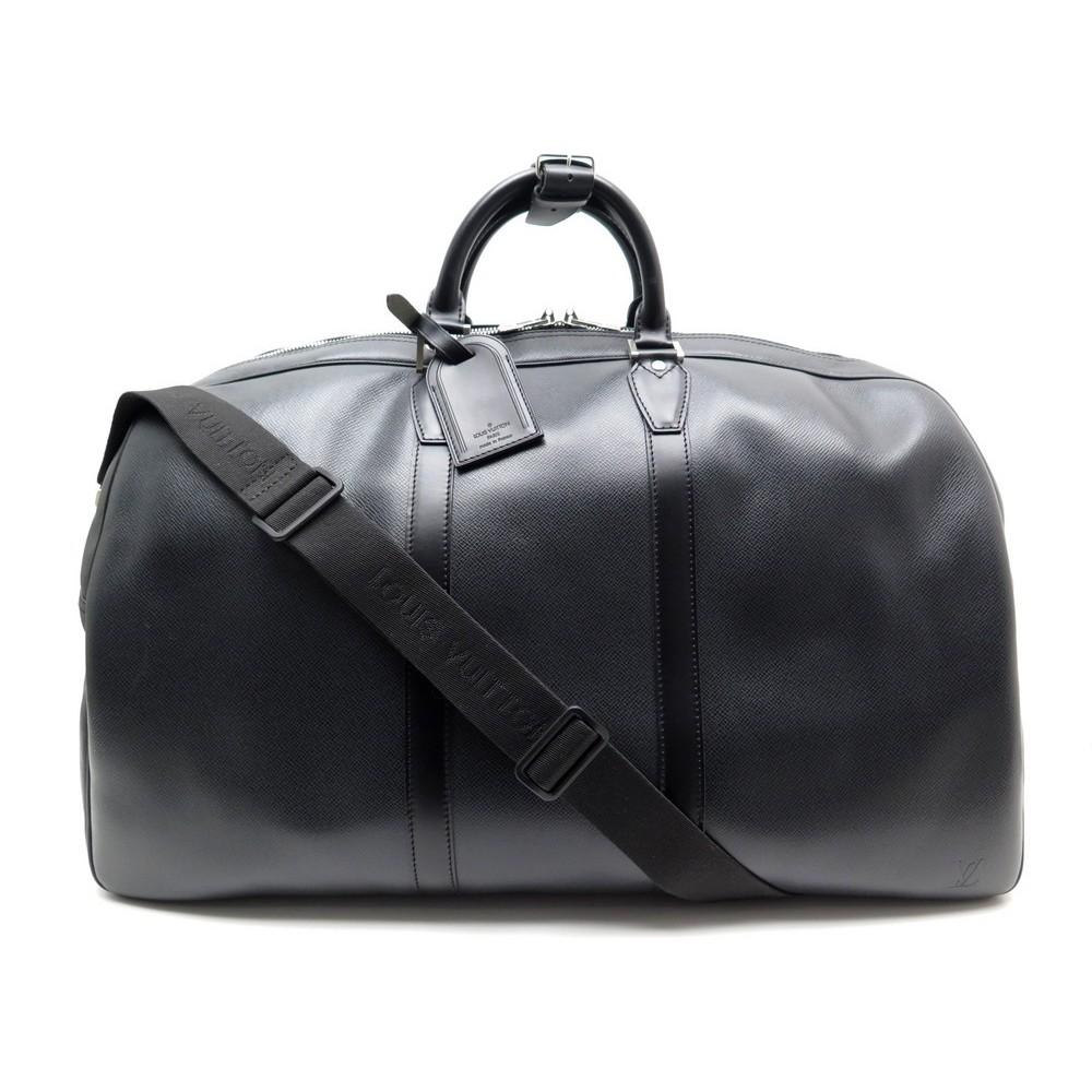 NEUF SAC MAIN DE VOYAGE LOUIS VUITTON KENDALL 55 EN CUIR TAIGA NOIR BAG  2755€. Loading zoom 0a0ec5a92f5