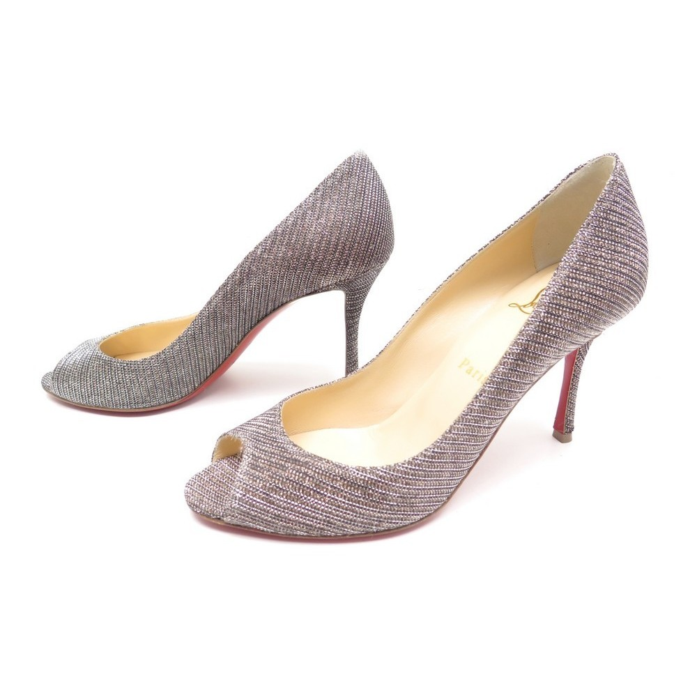 buy online 4a800 0c292 chaussures christian louboutin yootish 85 glitter