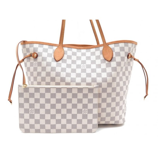 75cf79b69c82 sac a main louis vuitton neverfull mm toile damier