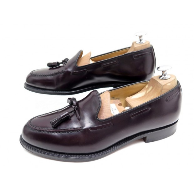 NEUF CHAUSSURES CHURCH'S HARROW MOCASSINS A PAMPILLES 7.5G 41.5 CUIR SHOES 520€