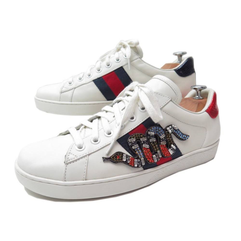 e98faa332027 CHAUSSURES GUCCI BASKET SNEAKERS SERPENT 40 IT 41 FR. Loading zoom