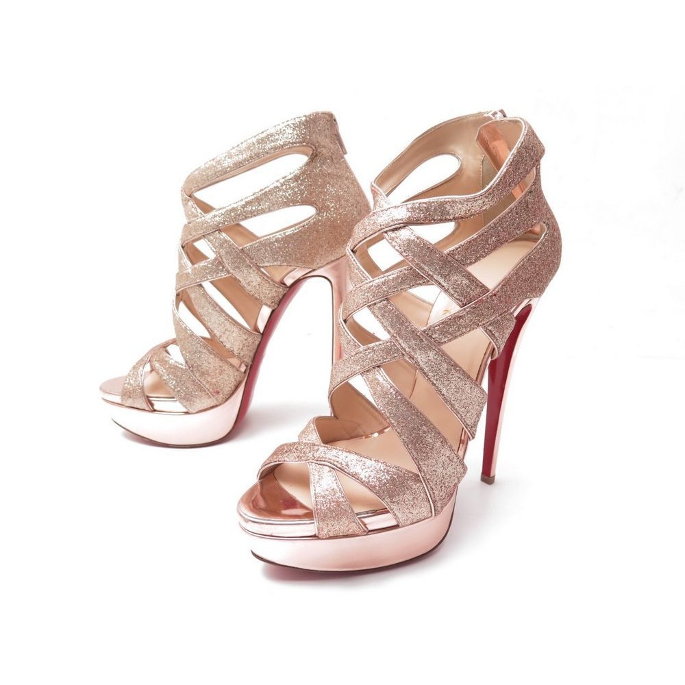 meilleur authentique 0a072 73ee5 chaussures christian louboutin balota glitter