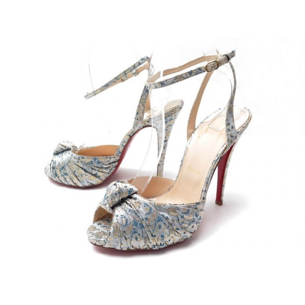 NEUF CHAUSSURES CHRISTIAN LOUBOUTIN JENNY STRING 39.5