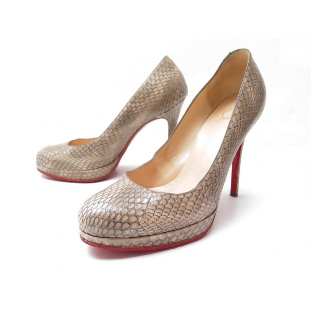 4d273ecca22 chaussures christian louboutin new simple pump 120 37