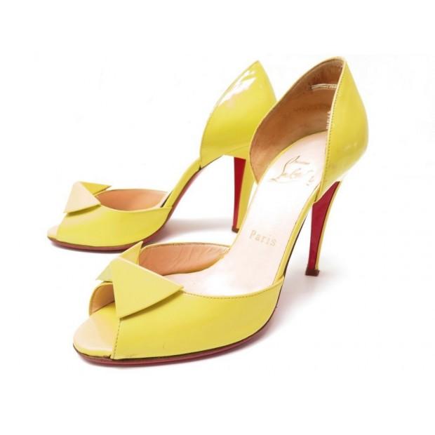 la meilleure attitude 2bff2 3a383 chaussures christian louboutin 36 escarpins sandales