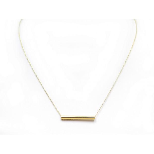célèbre marque de designer en ligne à la vente boutique pour officiel collier ginette ny straw on chain 43 cm en or