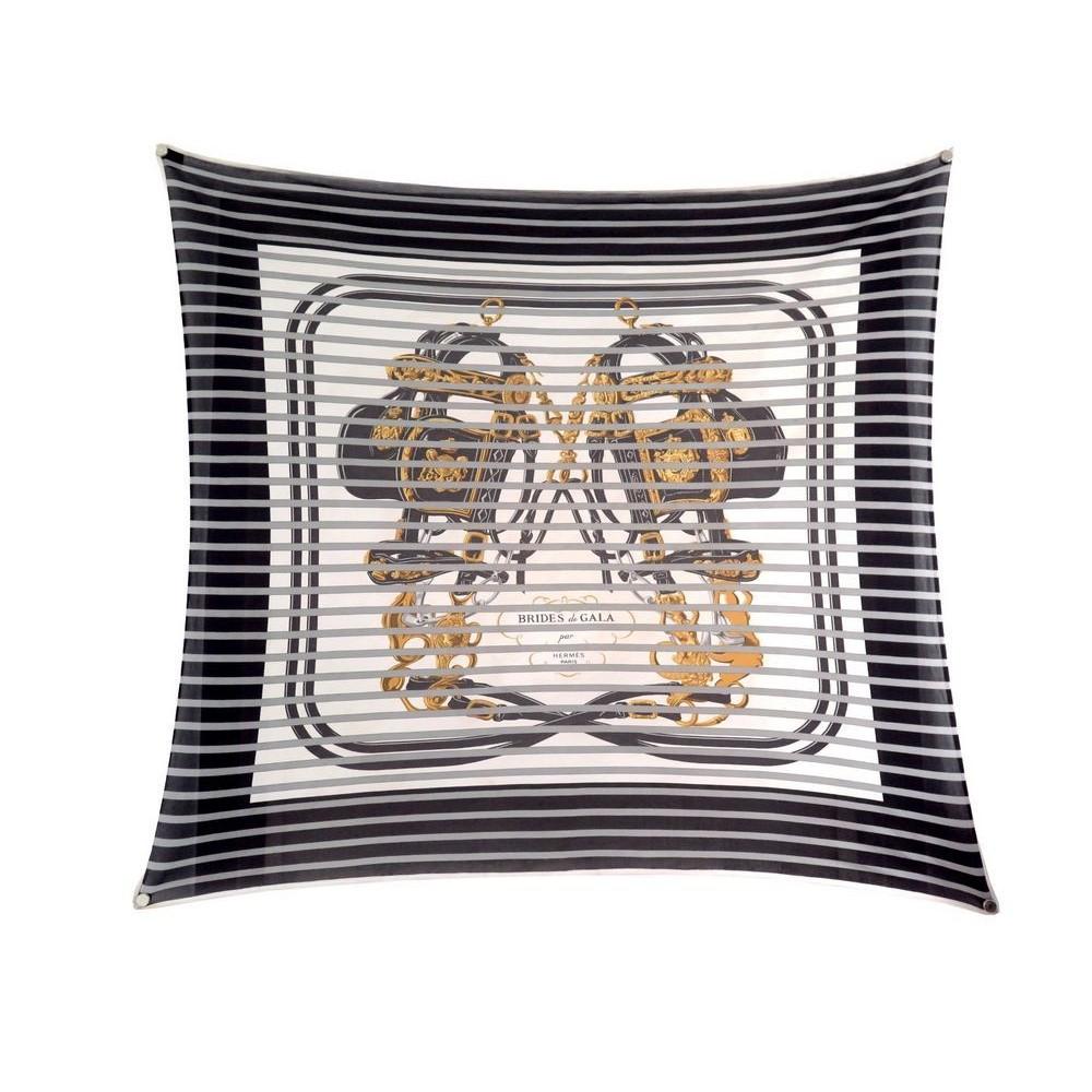 f35287f8e07 foulard hermes brides de gala bayadere carre 90 jersey