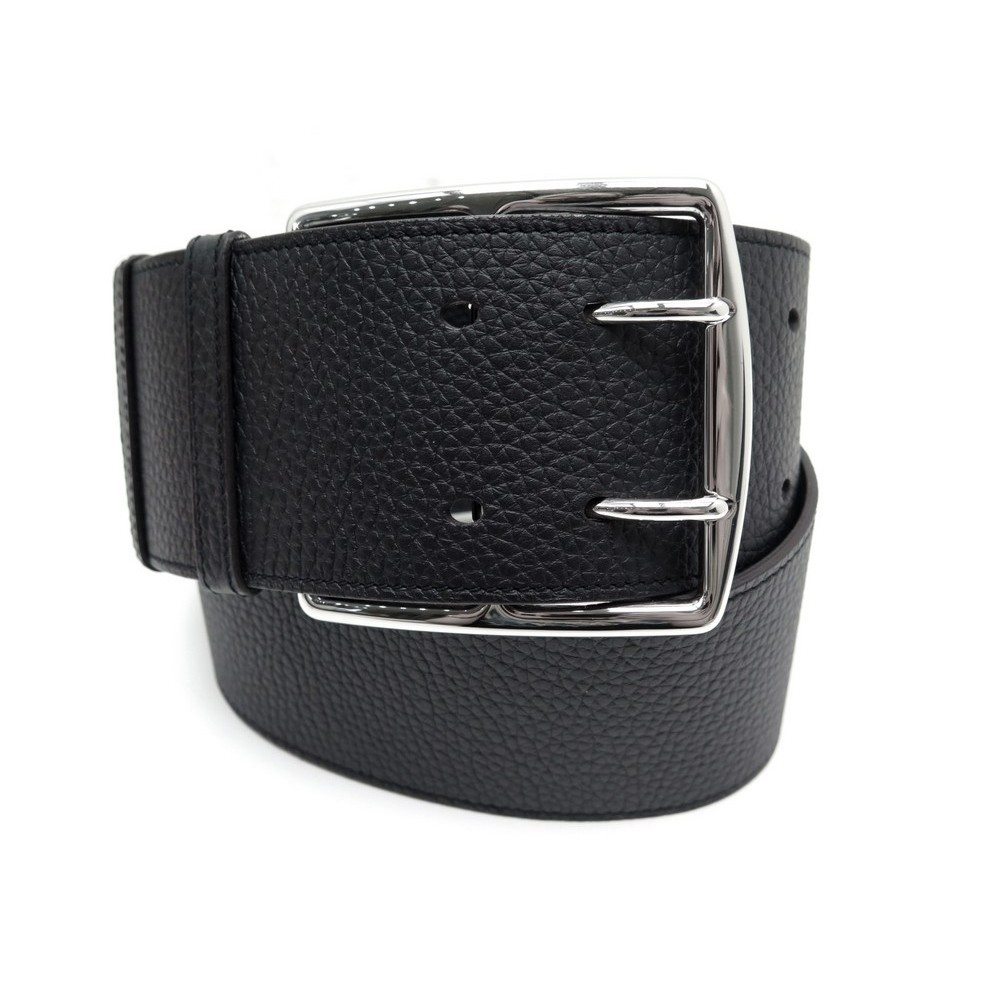 NEUF CEINTURE HERMES ETRIVIERE DOUBLE LARGE TAURILLON CLEMENCE 7 CM.  Loading zoom 8be5df82b7e