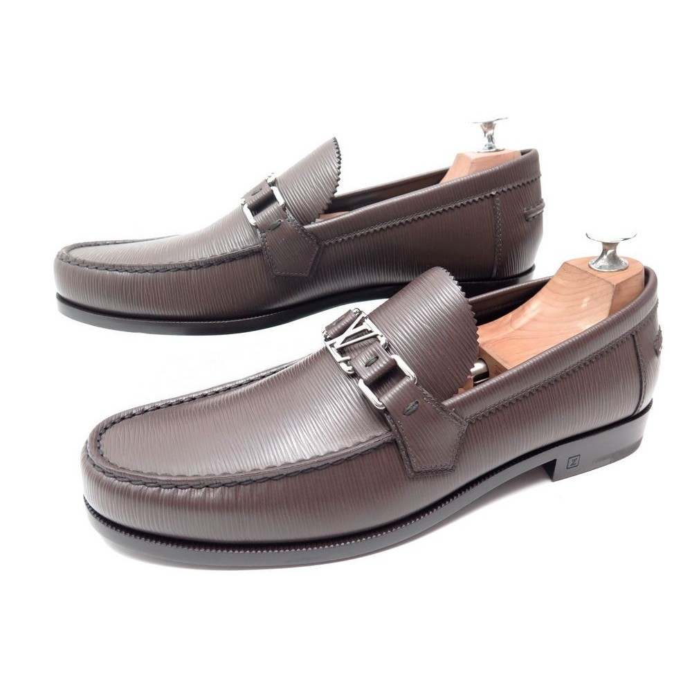 fee68ba22d0d NEUF CHAUSSURES LOUIS VUITTON MAJOR LOAFER MOCASSINS CUIR EPI 1. Loading  zoom