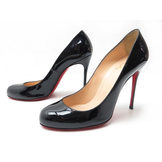 pas mal b21a6 361b6 chaussures christian louboutin escarpins 40 simple