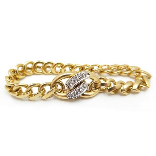 BRACELET POMELLATO 19CM OR JAUNE 18K 62.1GR DIAMANTS 0.88CT GOLD DIAMONDS 13500€