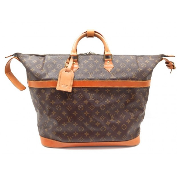 VINTAGE SAC DE VOYAGE LOUIS VUITTON CRUISER 40 TOILE MONOGRAM TRAVEL BAG 2150€