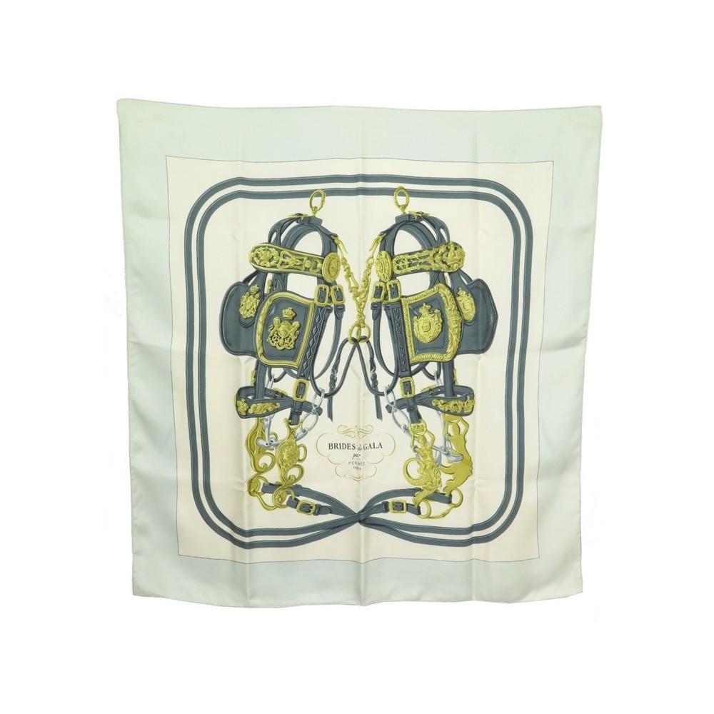 c644f6754b0 foulard hermes brides de gala carre 90 h. grygkar en