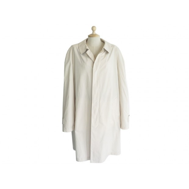 IMPERMEABLE BURBERRY 54 L EN COTON BEIGE POUR HOMME COTTON TRENCH COAT 1800€