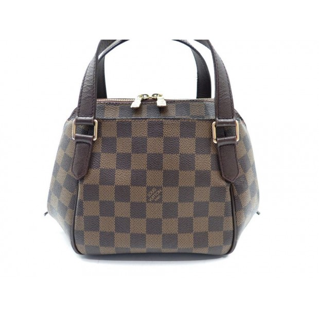 SAC A MAIN LOUIS VUITTON BELEM PM DAMIER EBEN 27 CM MARRON HAND BAG PURSE 990€