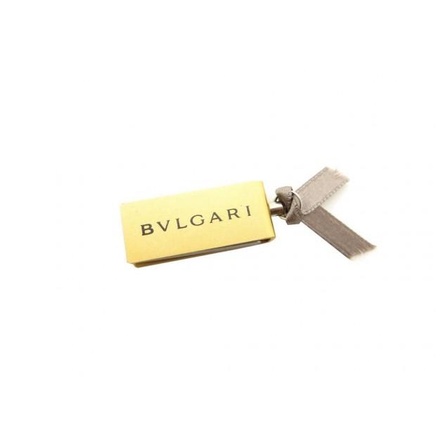 NEUF CLE USB BULGARI MONTRES BVLGARI 4 Go EN ACIER DORE ET ARGENTE + COFFRET KEY