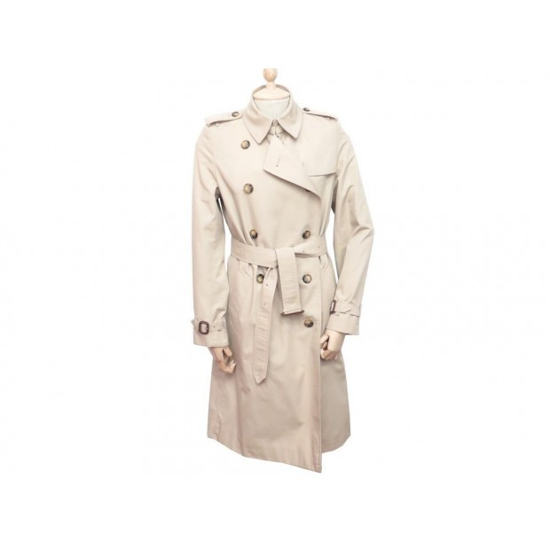 NEUF MANTEAU IMPERMEABLE BURBERRY TRENCH 532445 COTON BEIGE 10UK 38 M COAT 1995€
