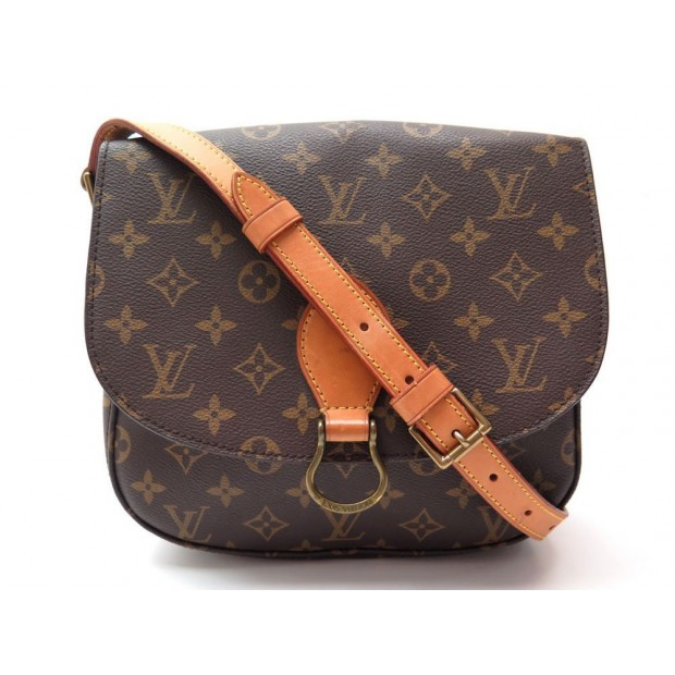 SAC A MAIN LOUIS VUITTON SAINT CLOUD GM BESACE BANDOULIERE TOILE MONOGRAM 1060€