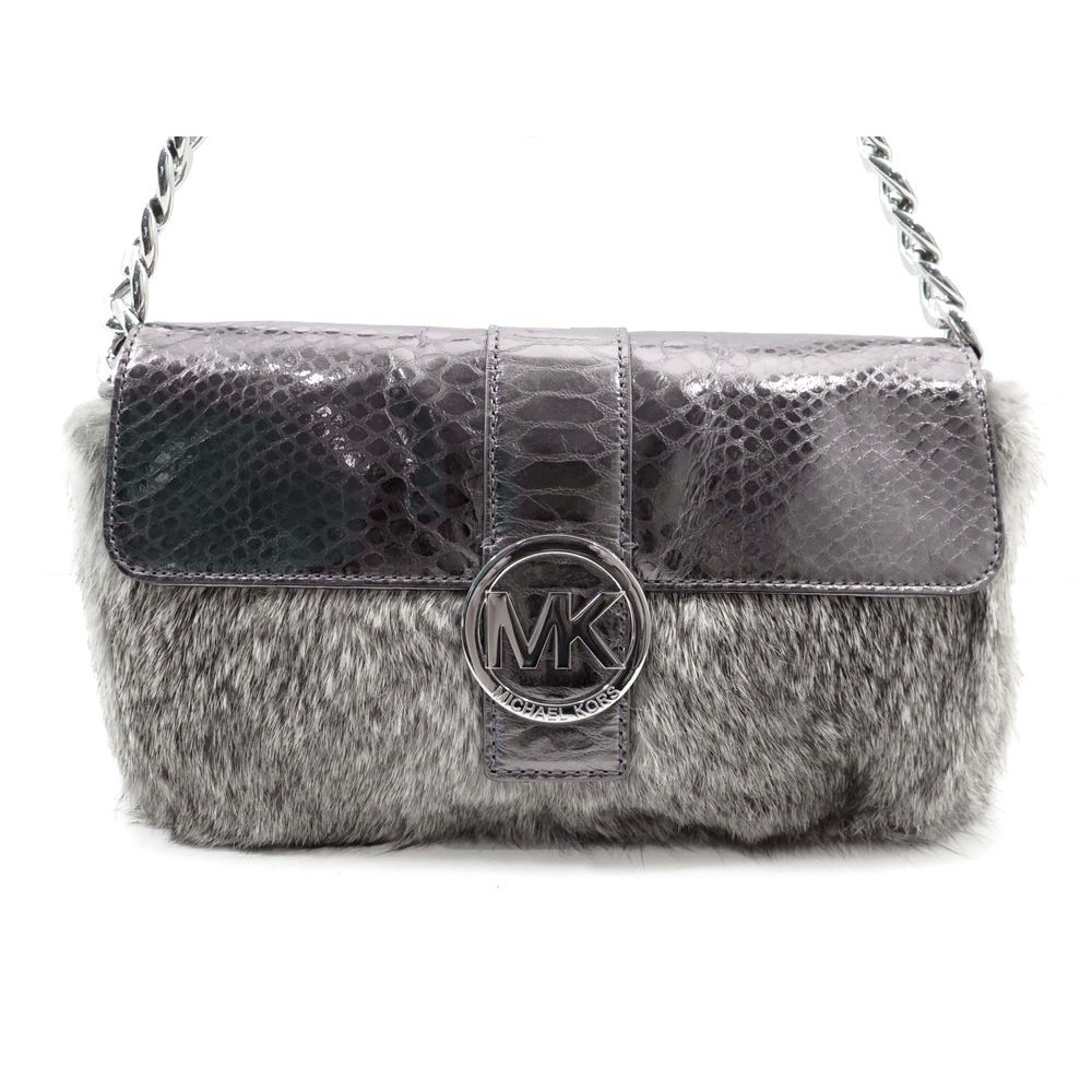 sac a main michael kors flurry fourrure de lapin