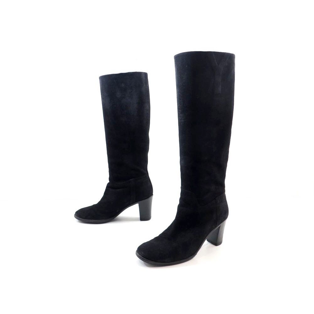 chaussures yves saint laurent chyc bottes a talons 39