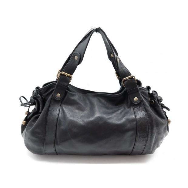 89a89ae8f048 sac a main gerard darel 24h en cuir noir black leather