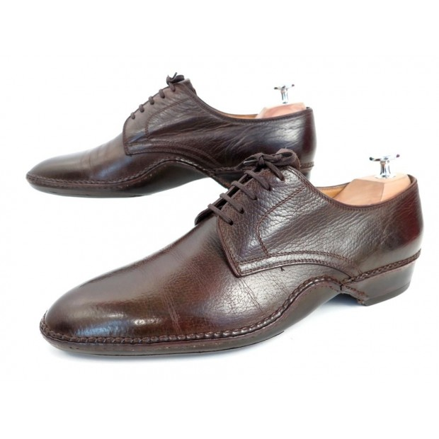 Shoes John 41 Cornerluxe Derby Marron Cuir Lobb 7 Chaussures 1370€ N0XOPknwZ8