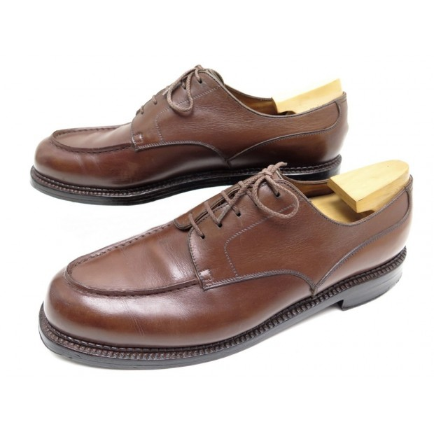 CHAUSSURES JM WESTON GOLF 641 8.5B 42 CUIR MARRON + EMBAUCHOIRS SHOES 795€
