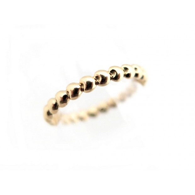 BAGUE POIRAY COEURS PERLES PM TAILLE 49 OR JAUNE 18K HEART GOLD RING JEWELL 790€