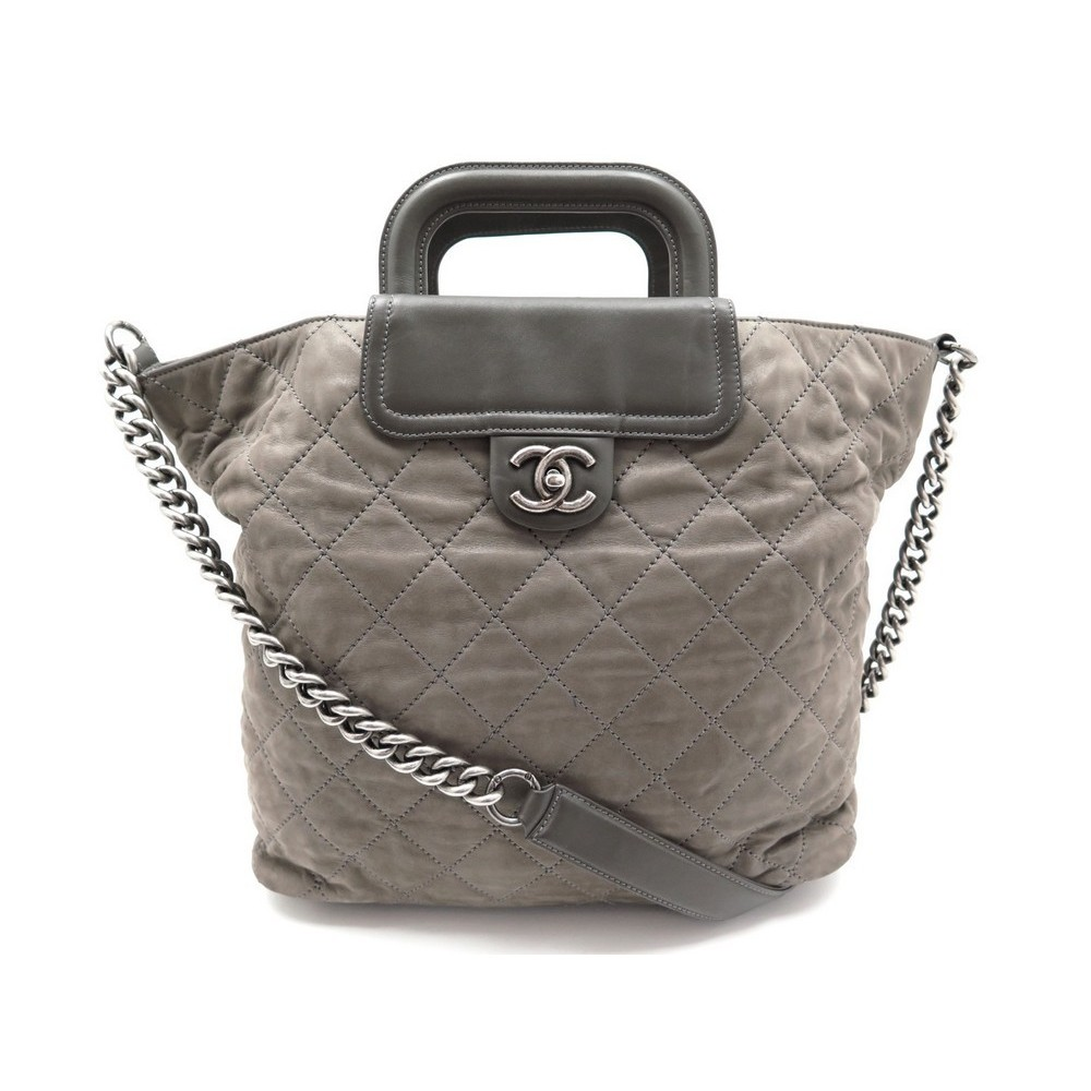 fd1583318f sac a main chanel shopping fermoir timeless matelasse