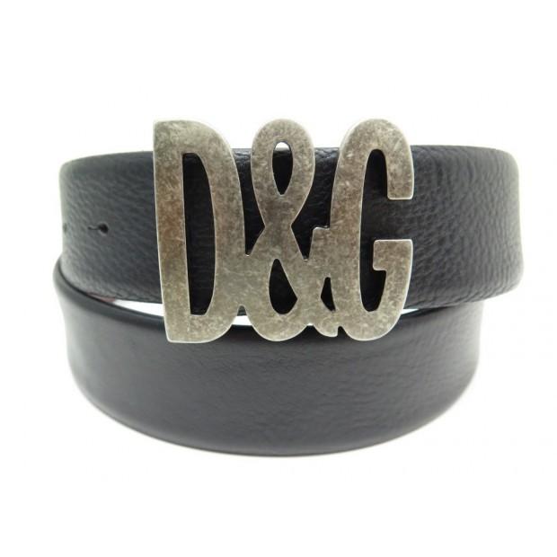 ceinture dolce gabbana logo d g t 100 cuir 4ffc27c71e67