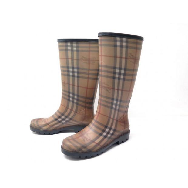burberry bottes pluie