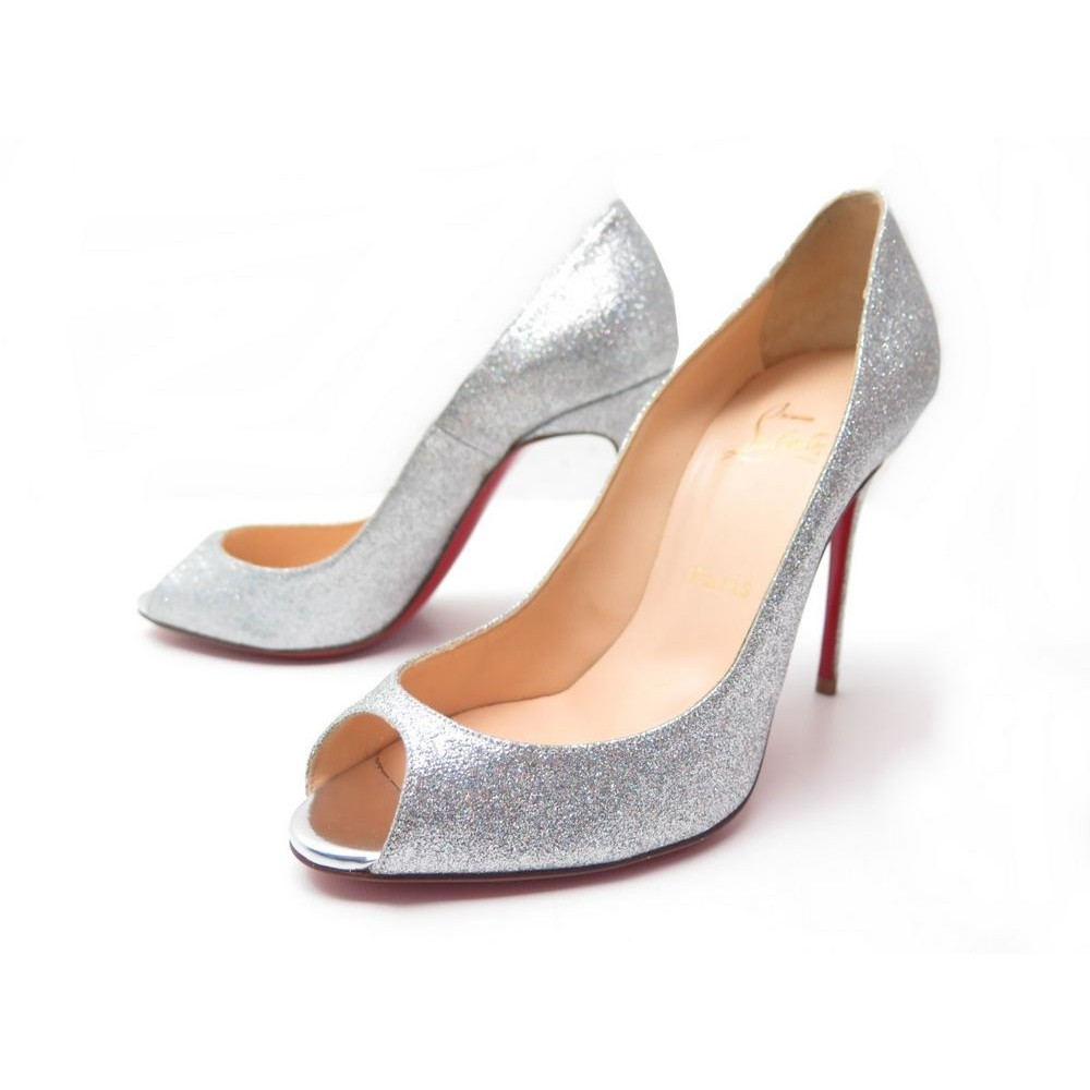 the latest ea660 25be8 chaussures christian louboutin yootish glitter