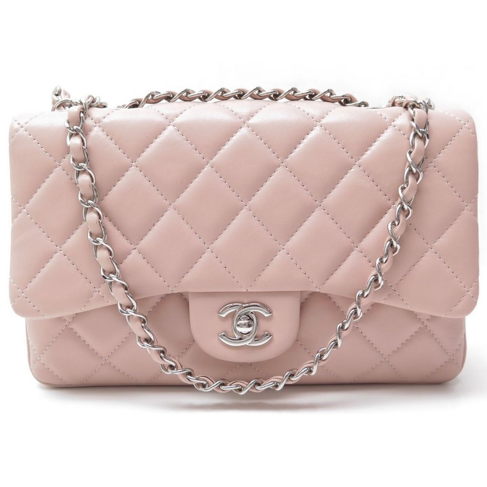 5993d3462607 SAC A MAIN CHANEL TIMELESS 2.55 CUIR MATELASSE ROSE. Loading zoom