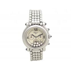 MONTRE Chopard Happy Sport 8267 CHRONO QUARTZ 7 diamond
