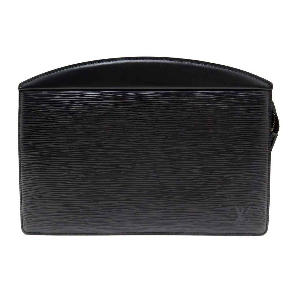 f88087ee1ce3 NEUF POCHETTE A MAIN LOUIS VUITTON TROUSSE EN CUIR EPI NOIR SAC BAG CLUTCH  680€. Loading zoom
