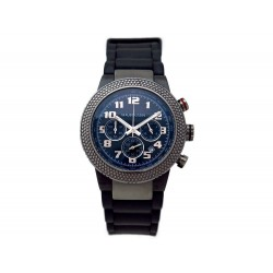 MONTRE MAUBOUSSIN 9192302-700C FIRST DAY WATCH 42MM QUARTZ CHRONO PVD NOIR 580€