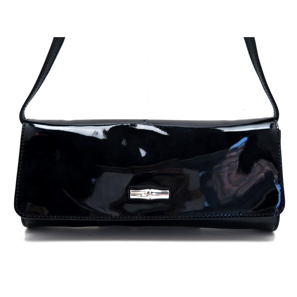 sac a main longchamp pochette roseau box en cuir