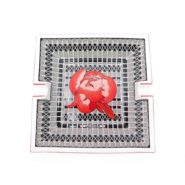 ea685718cd03 cendrier hermes vide poche fleur rouge porcelaine