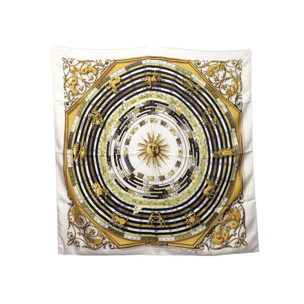 8c5cfd8f7c72 foulard hermes astrologie zodiac dies et hore carre