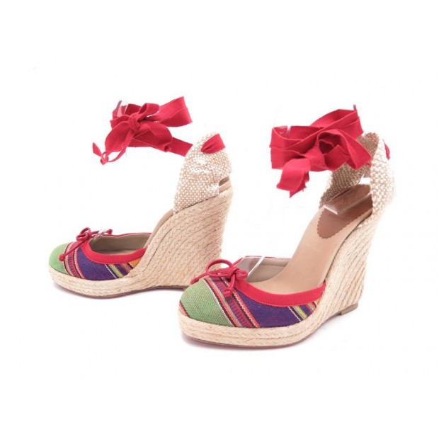 meilleures baskets 8ee86 a9ed0 chaussures christian louboutin espadrilles 36 sandales