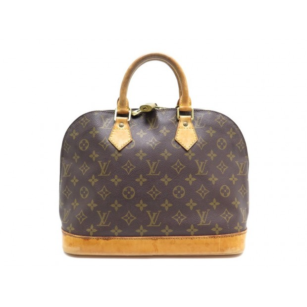 a73dd40da5 SAC A MAIN LOUIS VUITTON ALMA PM M53151 EN TOILE MONOGRAM LV BAG PURSE 1130€