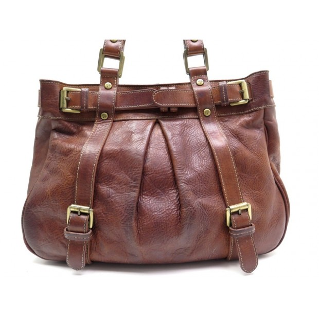 SAC MULBERRY CUIR MARRON