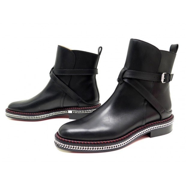 bottines louboutin homme