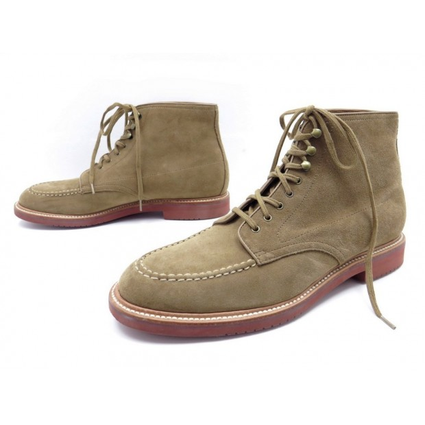 CHAUSSURES BOTTINES J. CREW KENTON A9648 11.5 US 44.5 FR DAIM BOOTS SHOES 310€