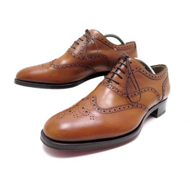la moitié 2fdca cfc6a chaussures christian louboutin 43 richelieu