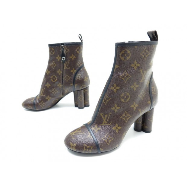 NEUF CHAUSSURES LOUIS VUITTON NEW REVIVAL ANKLE BOOT 36 BOTTINES SHOES 1100€