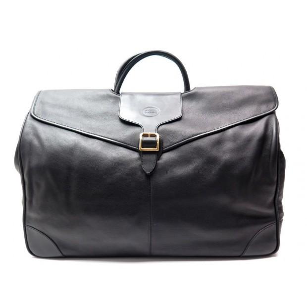3a94eaf10f sac de voyage a main longchamp 55cm cuir noir